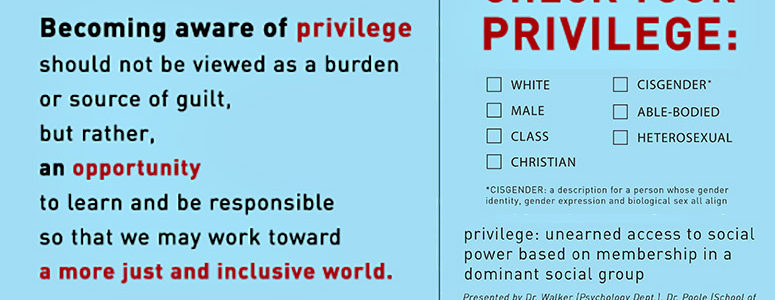 Male Privilege is Very Real